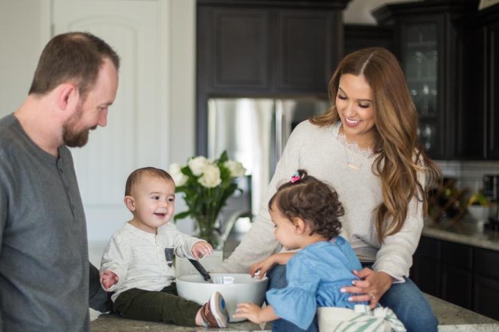 Family Baking PhotoShoot